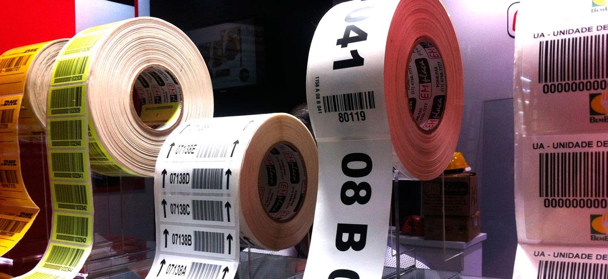 ede8c77337a4 Etiquetas Adesivas com Código de Barras - Emplaca Automação e ...