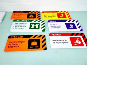 a97d5b33c37a4 Placas de Sinalização de Segurança do Trabalho - Emplaca Automação e ...